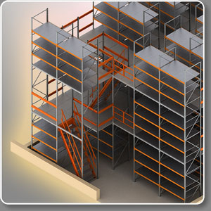 Металлическая мебель для склада