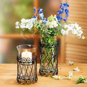 Хрустальные и стеклянные вазы для цветов