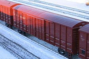 Отправка груза железной дорогой