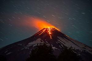 Действующие мировые вулканы